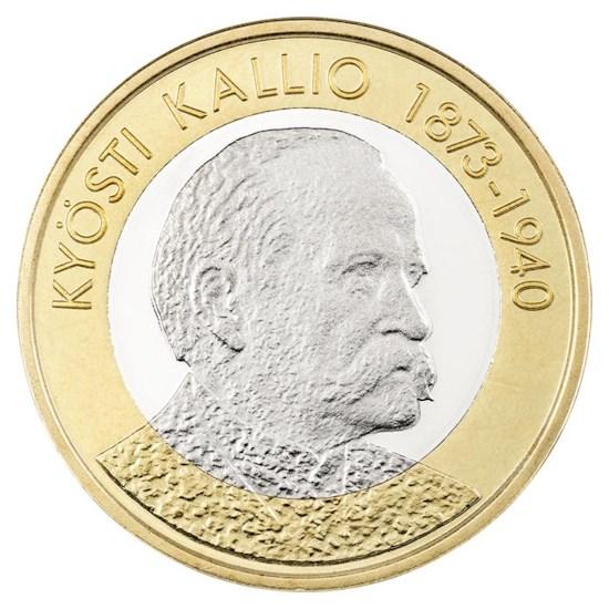 "Finland 5 Euro ""Kallio"" 2016"