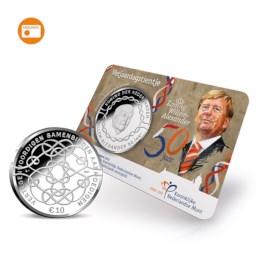 Verjaardagstientje 2017 UNC-kwaliteit in coincard