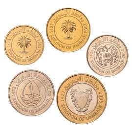Bahrein UNC Set 2002-2006