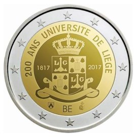 "België 2 Euro ""Luik"" 2017 UNC"
