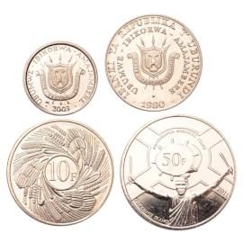 Burundi UNC Set