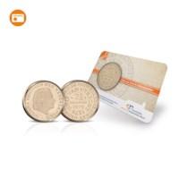 Historische Munt In Coincard: Unie Van Utrecht Rijksdaalder 1979