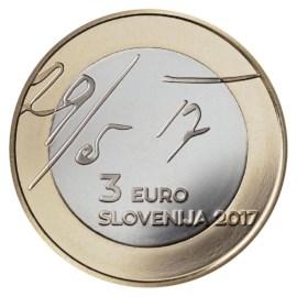 "Slovenië 3 Euro ""Mei-Manifest"" 2017"
