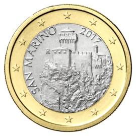 San Marino 1 Euro 2017 UNC