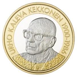 """Finland 5 Euro """"Kekkonen"""" 2017"""