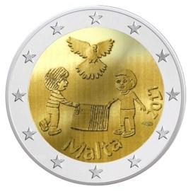 """Malta 2 Euro """"Vrede"""" 2017 BU"""