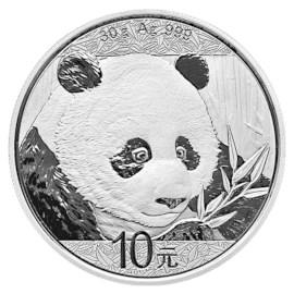 China Zilveren Panda 2018