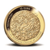 Leeuwarden 10 euro coin 2018 Gold Proof