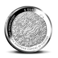 Leeuwarden 5 euro coin 2018 Silver Proof