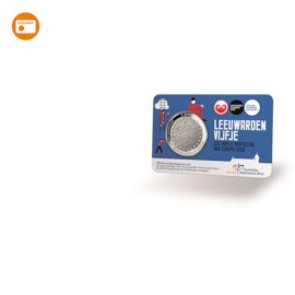 Leeuwarden Vijfje 2018 UNC in coincard