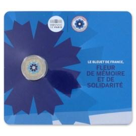 """Frankrijk 2 Euro """"Korenbloem"""" 2018 BU Coincard"""
