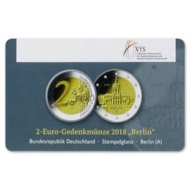 "Duitsland 2 Euro ""Berlin"" 2018 Coincard ""A"""