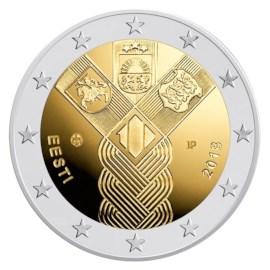 """Estland 2 Euro """"Baltische Staten"""" 2018"""