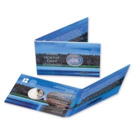 """Estland 2 Euro """"Onafhankelijkheid"""" 2018 BU Coincard"""