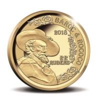 50 euromunt België 2018 'Rubens – Barok en Rococo' Goud Proof in cassette