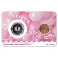 Baby Coincard 2018 Meisje