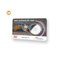 Fanny Blankers-Koen Vijfje 2018 UNC in coincard