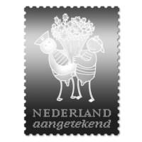 Zilveren Postzegel Fokke & Sukke