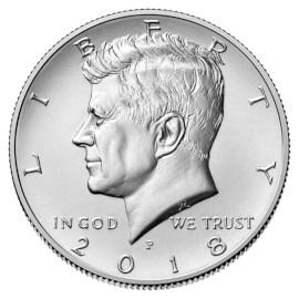 """US Half Dollar """"Kennedy"""" 2018"""