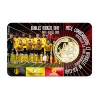"""Belgium 2,5 Euro """"Red Devils"""" 2018 NL Coincard"""