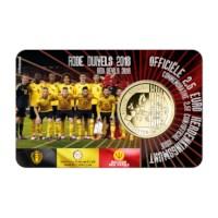 "Belgium 2,5 Euro ""Red Devils"" 2018 FR Coincard"