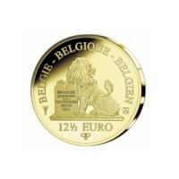 12,5 euromunt België 2018 'Louise Marie' Goud Proof in cassette
