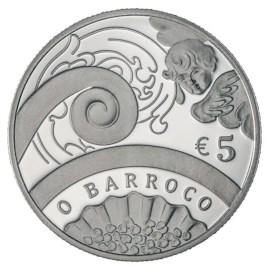"Portugal 5 Euro ""Barok"" 2018"