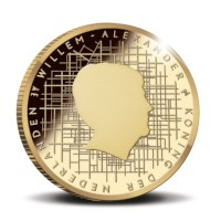 Schokland 10 euro coin 2018 Gold Proof