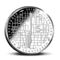 Schokland Vijfje 2018 UNC in coincard