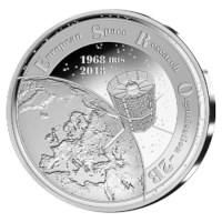 20 euro België 2018 'ESRO-2B' Zilver Proof