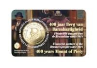 2,5 euro herdenkingsmunt België 2018 '400 jaar Berg van Barmhartigheid' BU in coincard NL