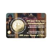 2,5 euro euromunt België 2018 '400 jaar Berg van Barmhartigheid' BU in coincard NL