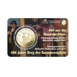 "België 2,5 Euro ""Berg van Barmhartigheid"" 2018 Coincard FR"