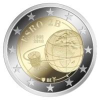 2 euromunt België 2018 'ESRO-2B' Proof in luxe etui