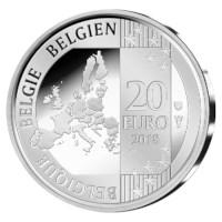 Proofset 'ESRO-2B' België 2018 met 2 + 20 euro