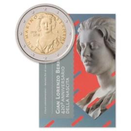 """San Marino 2 Euro """"Bernini"""" 2018"""