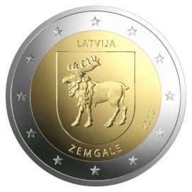 """Latvia 2 Euro """"Zemgale"""" 2018"""