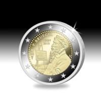 2 euromunt België 2019 '450 jaar Bruegel' Proof in etui