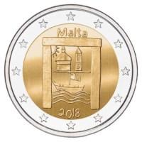 "Malta 2 Euro ""Cultureel Erfgoed"" 2018"