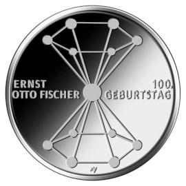 """Duitsland 20 Euro """"Ernst Otto Fischer"""" 2018"""