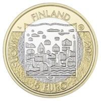 """Finland 5 Euro """"Koivisto"""" 2018"""