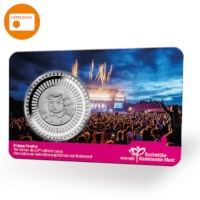 50 years Pinkpop Medal in coincard