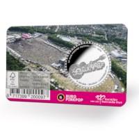 50 years Pinkpop Medal in coincard