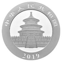 China Zilveren Panda 2019