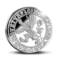 Official Restrike Lion Dollar 2019 Silver Proof