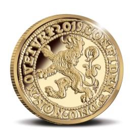 Officiële Herslag Leeuwendaalder 2019 Goud Proof