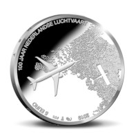 Aviation 5 euro coin 2019 UNC-quality in coincard