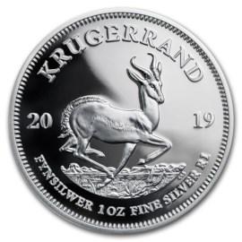 Zuid-Afrika 1 Oz. Krugerrand 2019 Zilver Proof
