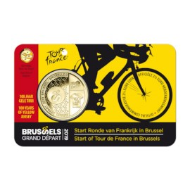 2.5 euro commemorative coin Belgium 2019 'Grand Départ Brussels' BU in coincard - NL
