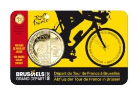 2,5 euromunt België 2019 'Grand Départ Brussel' BU in coincard - FR